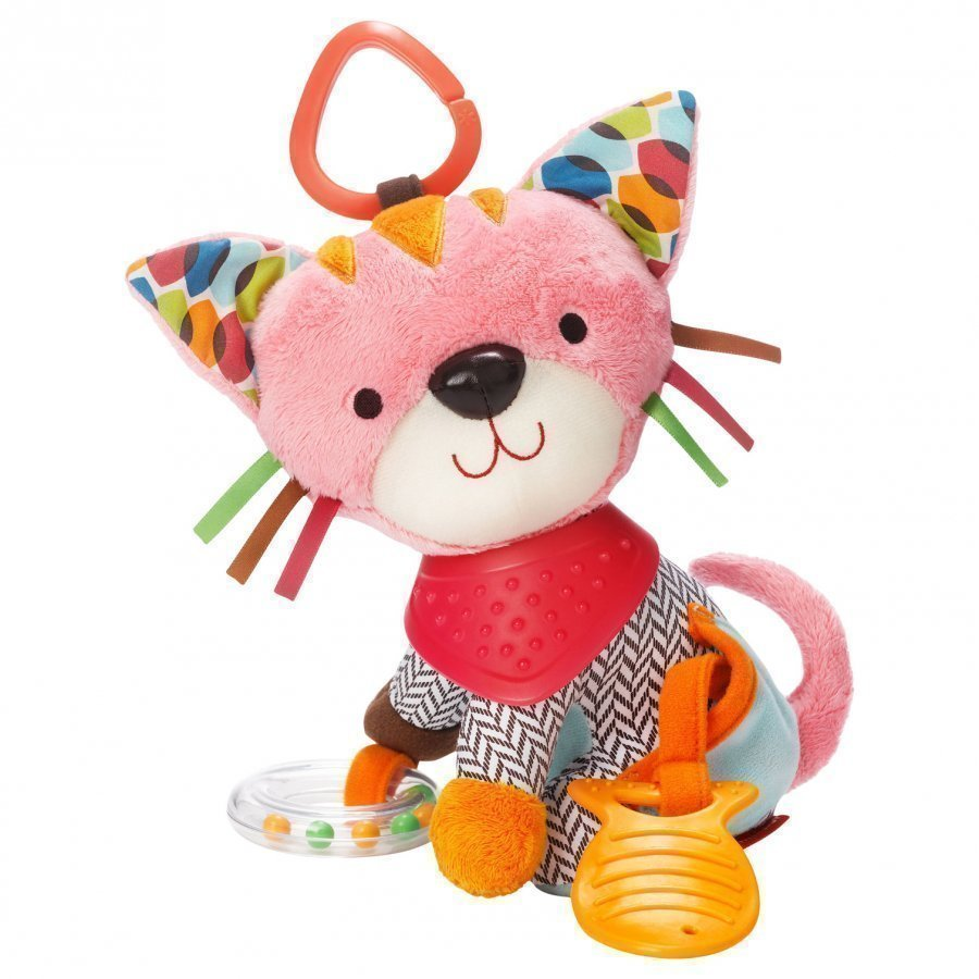 Skip Hop Bandana Buddies Activity Animal Kitten Aktiviteettilelu