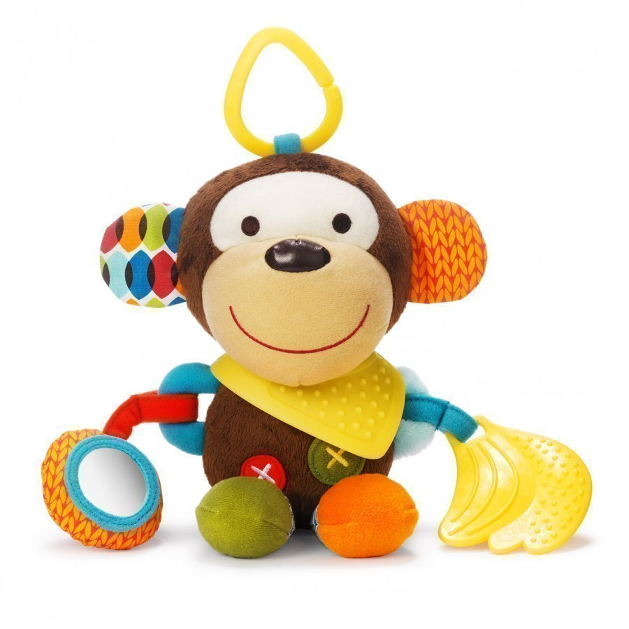 Skip Hop Bandana Buddies Activity Animal Monkey Aktiviteettilelu
