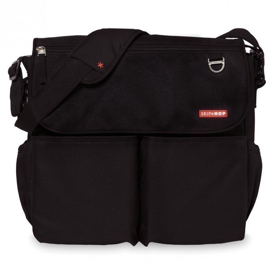 Skip Hop Dash Signature Diaper Bag Black Hoitolaukku
