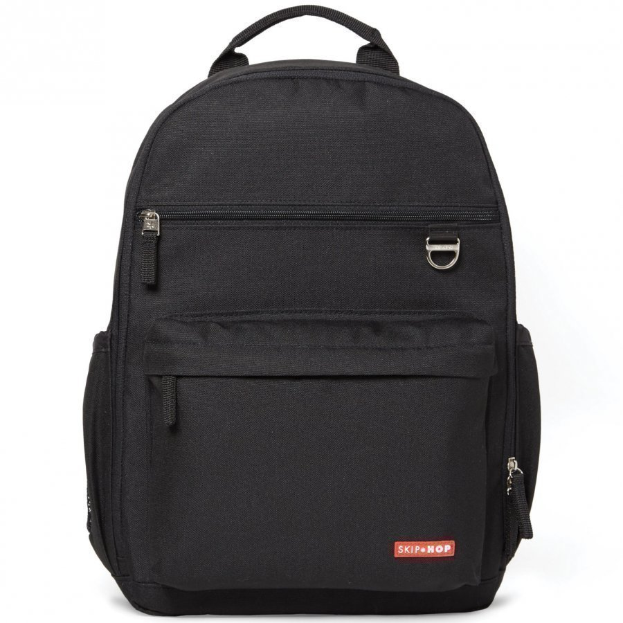 Skip Hop Duo Diaper Backpack Black Hoitolaukku