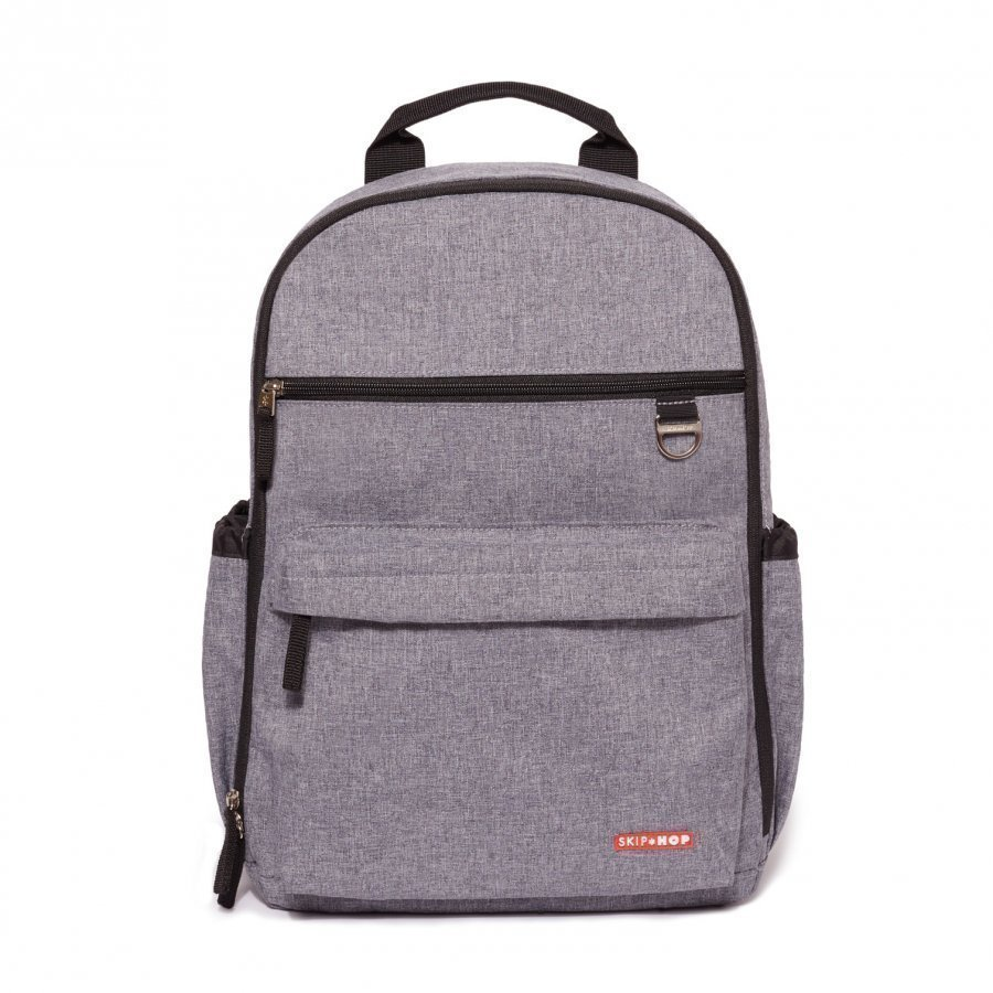 Skip Hop Duo Diaper Backpack Heather Grey Hoitolaukku