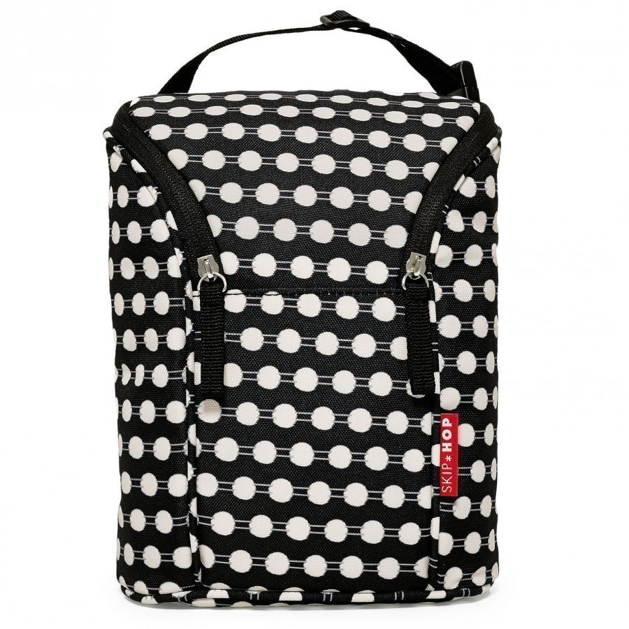 Skip Hop Grab & Go Double Bottle Bag Connected Dots Hoitolaukku