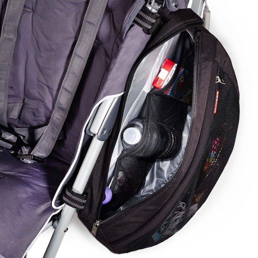 Skip Hop Grab & Go Stroller Saddlebag Black Hoitolaukku