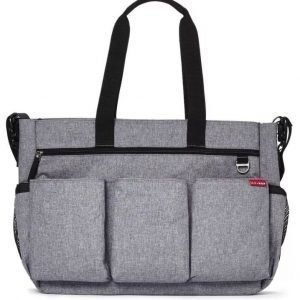Skip Hop Hoitolaukku Duo Double Signature Heather Grey