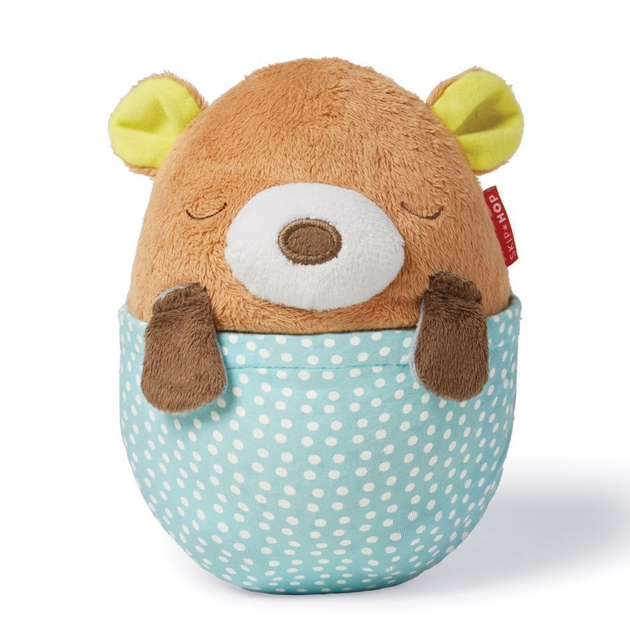 Skip Hop Moonlight & Melodies Hug Me Bear Projection Soother Yövalo