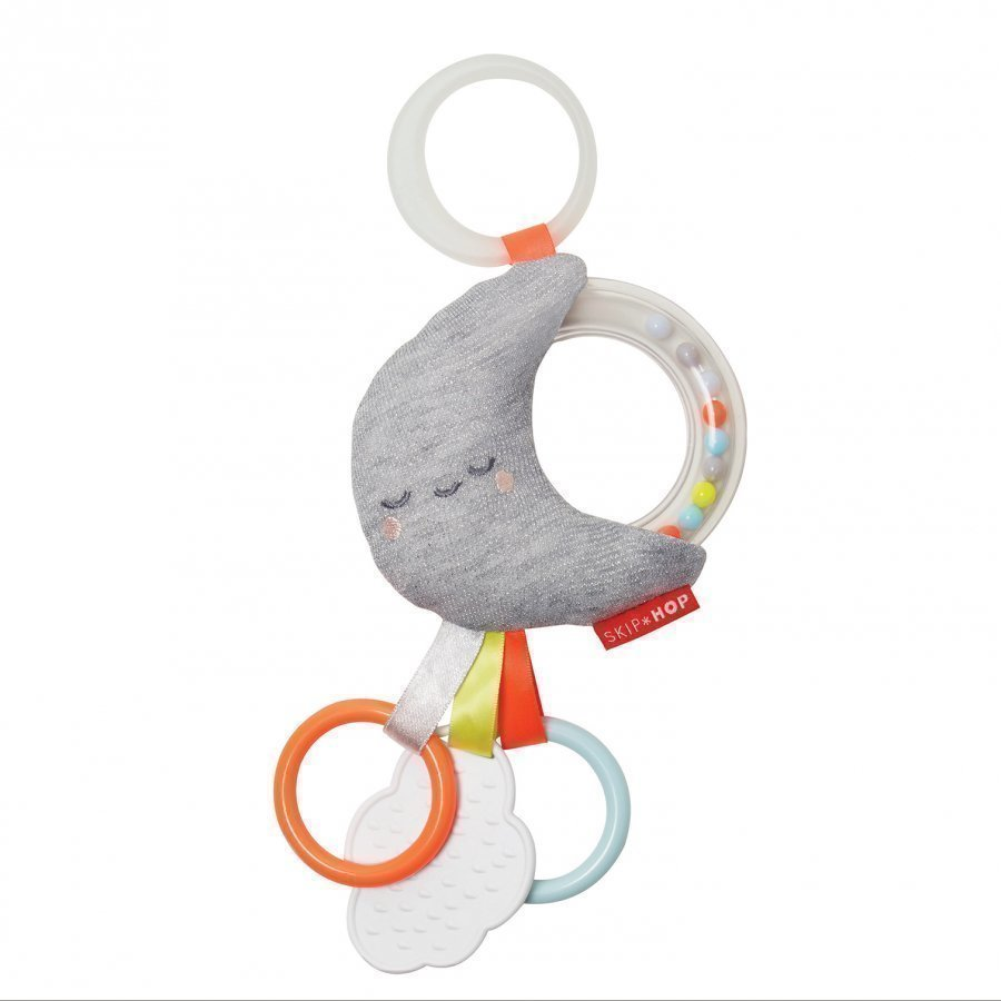 Skip Hop Rattle Moon Stroller Toy Helistin