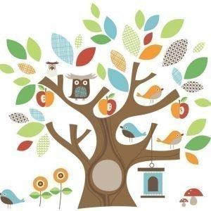 Skip Hop Seinätarrat Treetop Friends