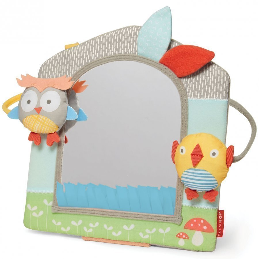 Skip Hop Treetop Friends Activity Mirror Grey/Pastel Aktiviteettilelu