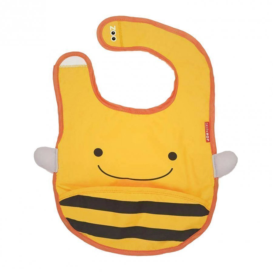 Skip Hop Zoo Bib Bee Ruokalappu
