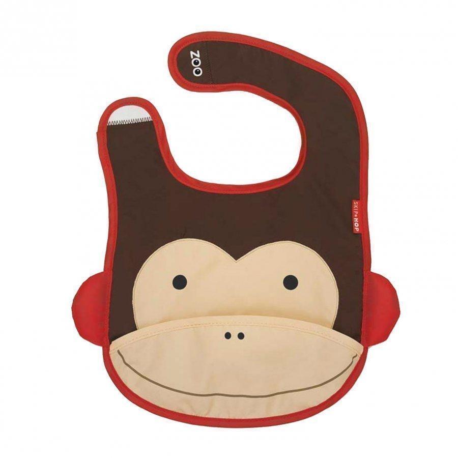 Skip Hop Zoo Bib Monkey Ruokalappu