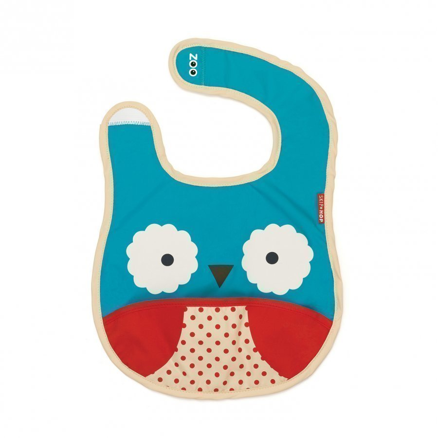 Skip Hop Zoo Bib Owl Ruokalappu