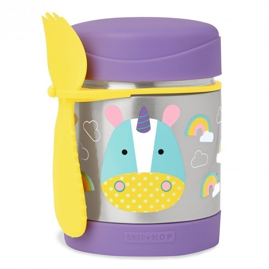 Skip Hop Zoo Insulated Food Jar Unicorn Lounasrasia