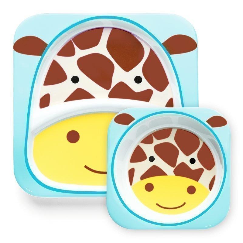Skip Hop Zoo Lautaset 2 kpl Kirahvi