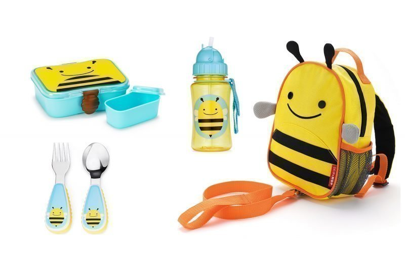 Skip Hop Zoo Lounaspaketin 4 osaa Mehiläinen