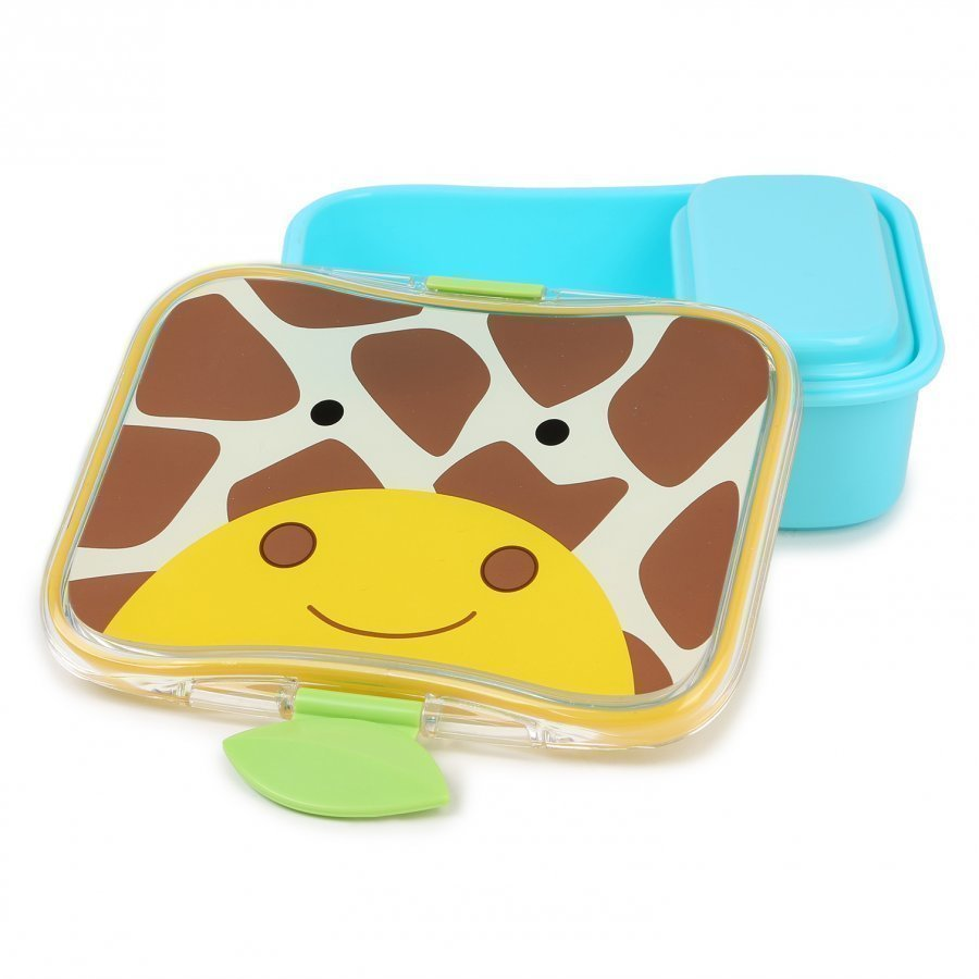 Skip Hop Zoo Lunch Box Giraffe Ruokailusetti