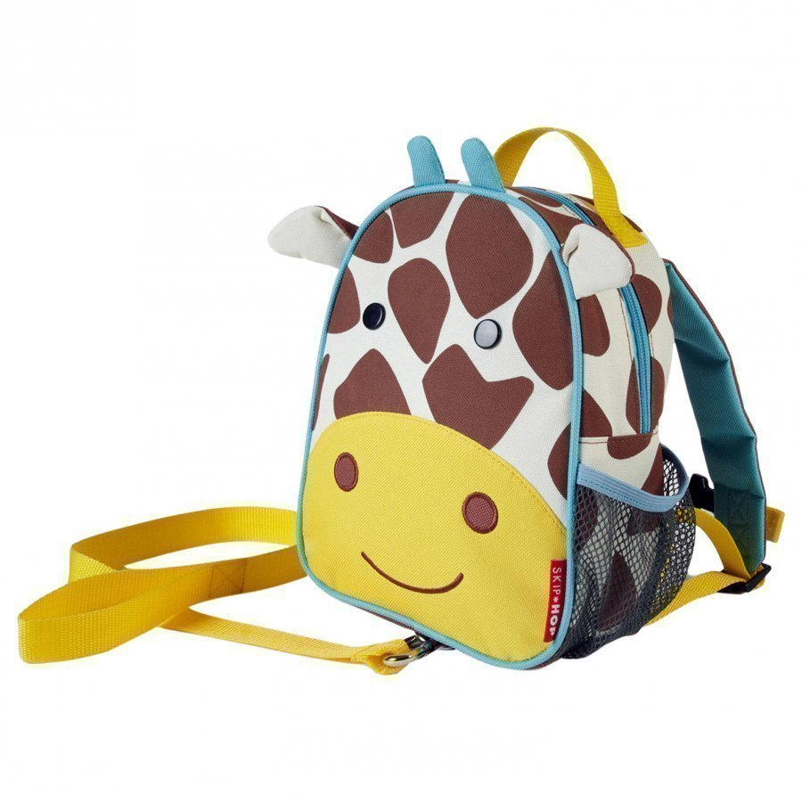 Skip Hop Zoo Mini Backpack With Safety Harness Giraffe Reppu