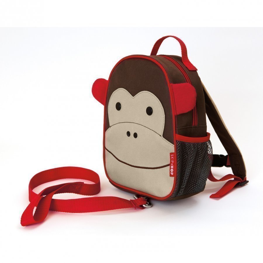 Skip Hop Zoo Mini Backpack With Safety Harness Monkey Reppu