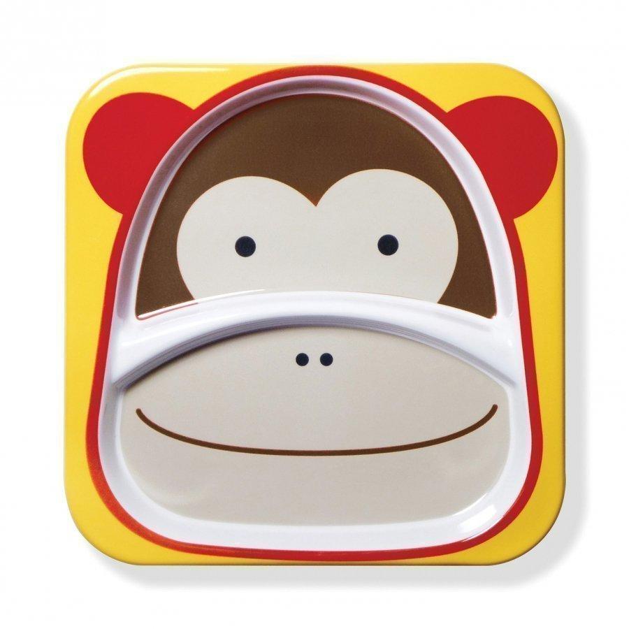 Skip Hop Zoo Plate Monkey Ruokailusetti