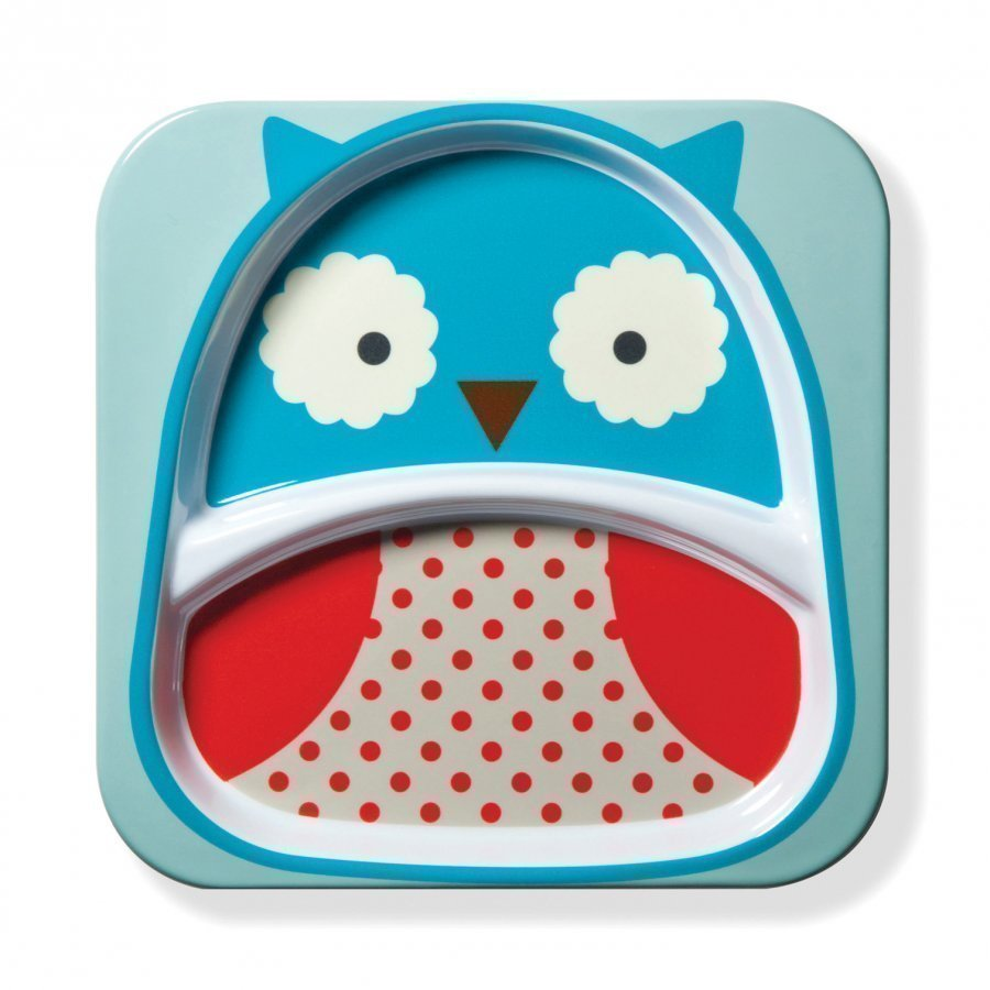 Skip Hop Zoo Plate Owl Ruokailusetti