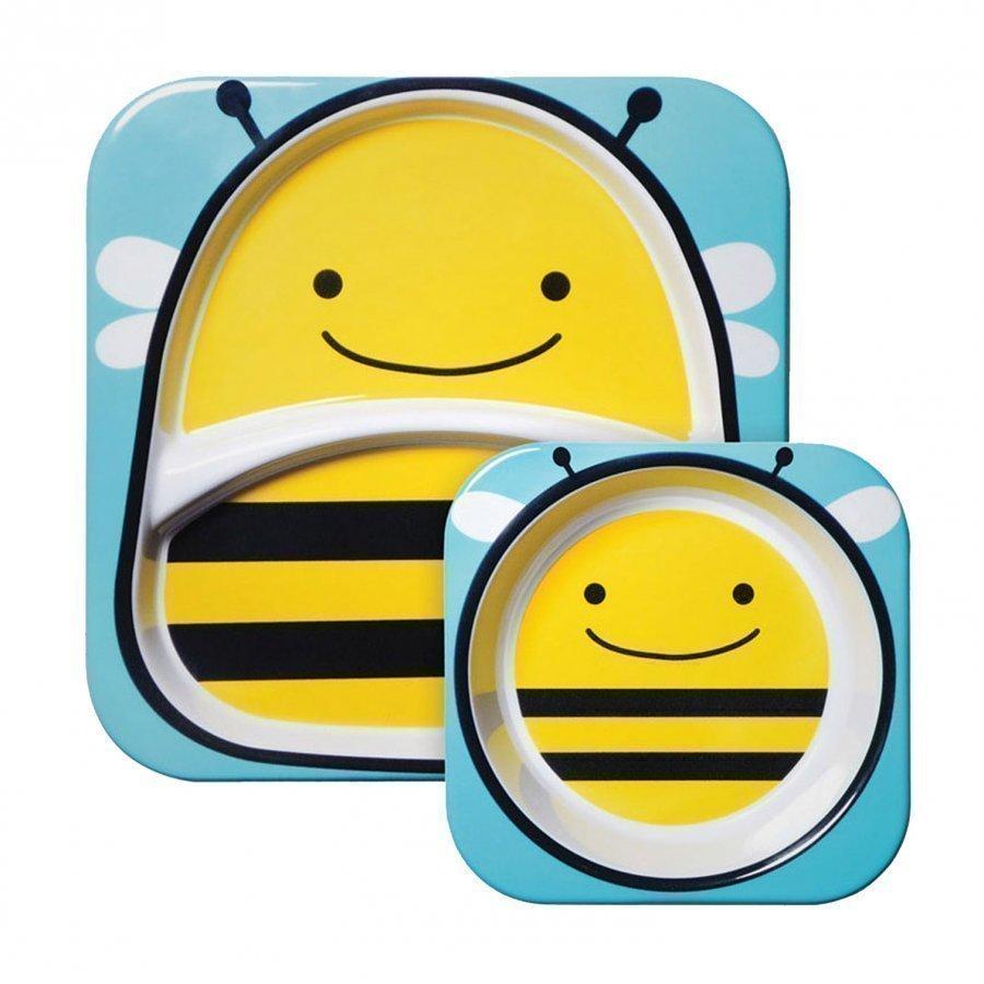 Skip Hop Zoo Plates Bee Ruokailusetti