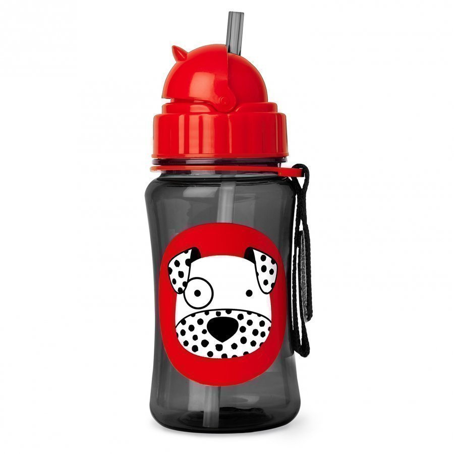 Skip Hop Zoo Straw Bottle Dalmation Vesipullo