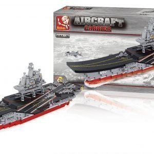Sluban Aircraft Carrier Sluban Army Sarjan Rakennuspalikat