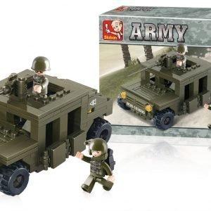 Sluban Armoured Vehicle Sluban Army Sarjan Rakennuspalikat 107779