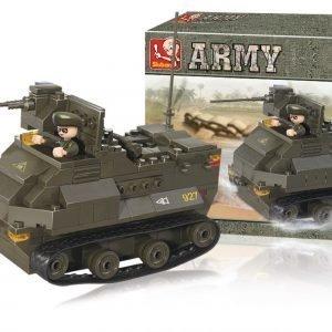 Sluban Armoured Vehicle Sluban Army Sarjan Rakennuspalikat 107780