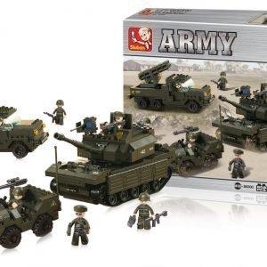 Sluban Army Set Sluban Army Sarjan Rakennuspalikat