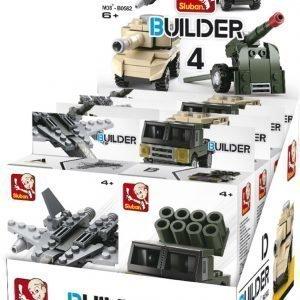 Sluban Army Sluban Builder Sarjan Rakennuspalikat