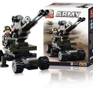 Sluban Artillery Sluban Army Sarjan Rakennuspalikat