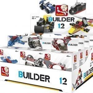 Sluban Builder 12 Sluban Builder Sarjan Rakennuspalikat