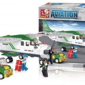 Sluban Cargo Plane Sluban Aviation Sarjan Rakennuspalikat