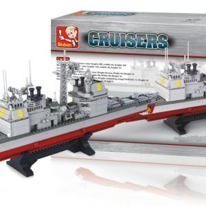 Sluban Cruiser Sluban Aircraft Carrier Sarjan Rakennuspalikat
