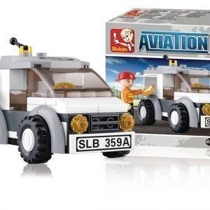 Sluban Delivery Van Sluban Aviation Sarjan Rakennuspalikat