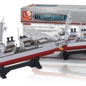 Sluban Destroyer Sluban Aircraft Carrier Sarjan Rakennuspalikat