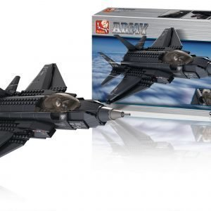 Sluban Fighter Jet Sluban Army Sarjan Rakennuspalikat 107790