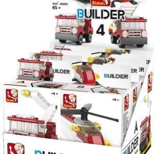 Sluban Fire Sluban Builder Sarjan Rakennuspalikat
