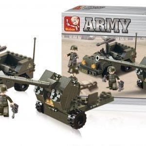 Sluban Flak Sluban Army Sarjan Rakennuspalikat