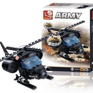 Sluban Helikopteri Sluban Army Sarjan Rakennuspalikat