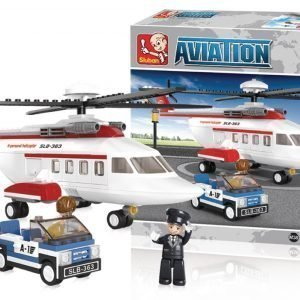 Sluban Helikopteri Sluban Aviation Sarjan Rakennuspalikat