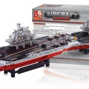 Sluban Large Aircraft Carrier Sluban Aircraft Carrier Sarjan Rakennuspalikat