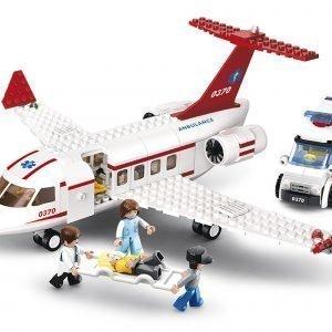 Sluban Medical Air Ambulance Sluban Aviation Sarjan Rakennuspalikat