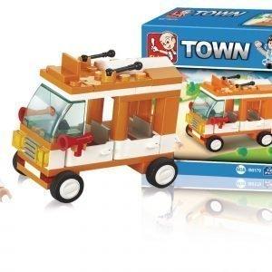 Sluban Mini Bus Sluban Town Sarjan Rakennuspalikat