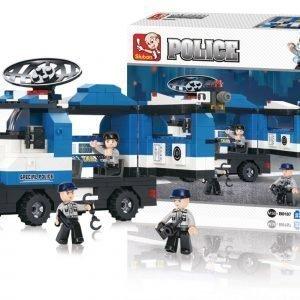 Sluban Mobile Police Post Sluban Police Sarjan Rakennuspalikat