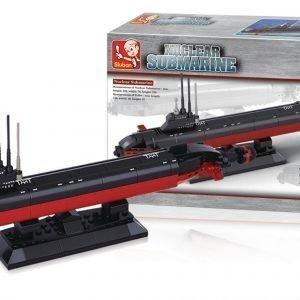 Sluban Nuclear Submarine Sluban Aircraft Carrier Sarjan Rakennuspalikat