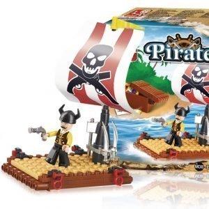 Sluban Pirate Raft Sluban Pirate Sarjan Rakennuspalikat