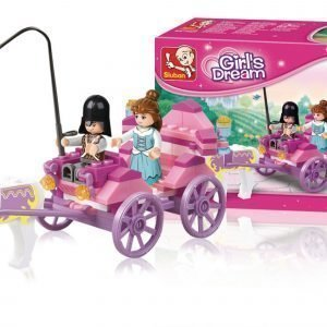 Sluban Princess Carriage Sluban Girls Dream Sarjan Rakennuspalikat