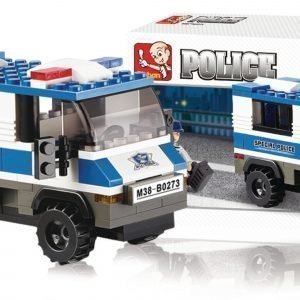 Sluban Prisoner Transporter Sluban Police Sarjan Rakennuspalikat