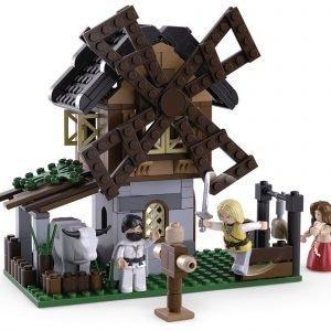 Sluban Rakennuspalikat Legend Warriors Sarja Windmill